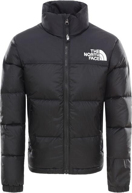 The North Face Retro Nuptse Daunenjacke Kinder tnf black